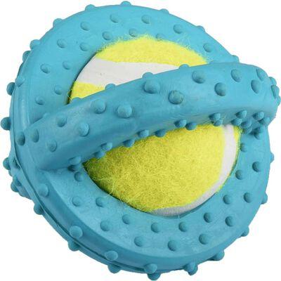 Jchien caoutchouc scrum disque tennis bleu 8cm