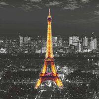 AG Design Papier peint photo Eiffel In The Night