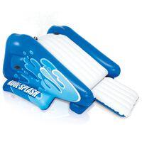 Intex Toboggan aquatique gonflable Kool Splash Bleu