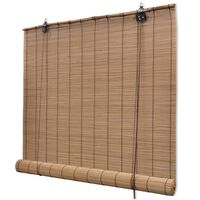 vidaXL Store roulant en bambou 150 x 160 cm Marron