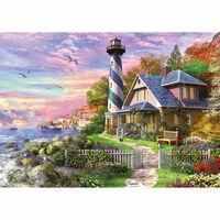 Puzzle 1000 pièces : Phare à Rock Bay