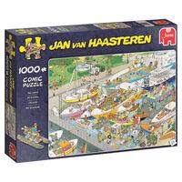 Puzzle Jumbo Jan van Haasteren Les écluses 1000 Pièces