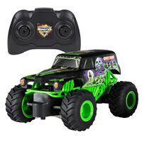 Monster Jam Camion jouet Grave Digger avec télécommande 1:24