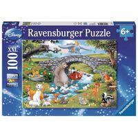 Puzzle grande famille disney