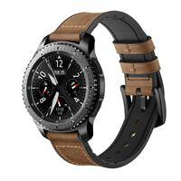 Bracelet pour Samsung Gear S3 Classic / Frontier / Galaxy Watch en cui
