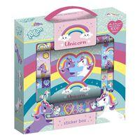 Totum Unicorn StickerBox avec plus de 1000 autocollants