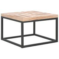 vidaXL Table basse 50 x 50 x 33,5 cm Bois massif