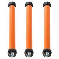 vidaXL Moteurs tubulaires 3 pcs 20 Nm