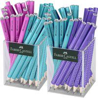 Faber Castell FC 111640 Crayon Jumbo GRIP 2 Sparkle Sleeves 36 Pièces