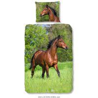 Good Morning Housse de couette enfants Running Horse 140x200/220 cm