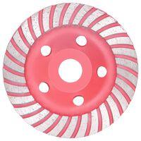 vidaXL Disque de broyage diamanté avec Turbo 125 mm