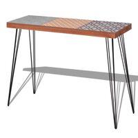 vidaXL Table console 90 x 30 x 71,5 cm Marron