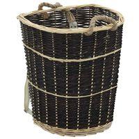 vidaXL Sac à dos bois de chauffage sangles de transport 57x51x69 cm