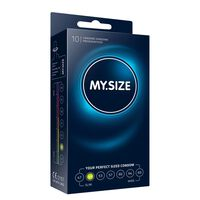 My Size - Natural Latex Condom 49 Largeur 10 pièces