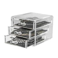 Compactor Coffret range-bijoux 3 tiroirs