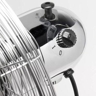 Ventilateur sur pied chromé 45 cm 50 W Bestron DFS45S