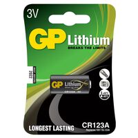 Batterie Lithium 123A 1 pack