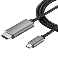 Câble USB-C vers HDMI 4K - 2 mètres