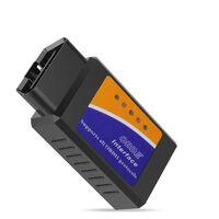 Dispositif de diagnostic de code d'erreur de véhicule OBD-2 ELM 327 Bl