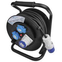 ProPlus Enrouleur de câble 25 m 1 x CEE