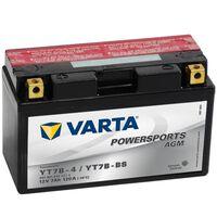 Varta Batterie AGM 12 V 7 Ah YT7B-4 / YT7B-BS