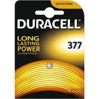 Pile Bouton Silver Oxide Duracell '377' 1,5 V