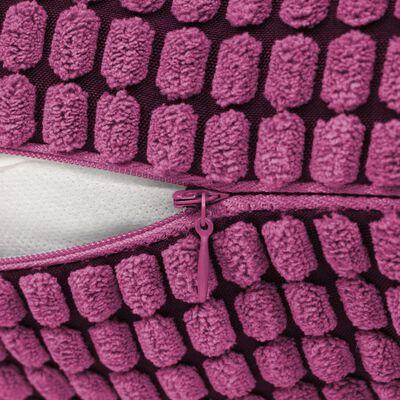 vidaXL Jeu de coussin 2 pcs Velours 45 x 45 cm Rose