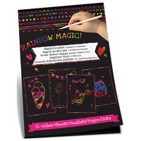 Scratch Book magique avec deux broches 50 et feuilles