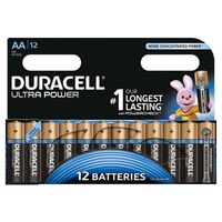 Duracell Piles alcalines AA Ultra Power 12 pièces