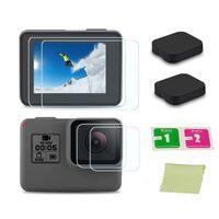Couvre-objectif et protecteur d'écran GoPro Hero5 Hero6 Hero7 Black