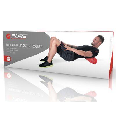 Pure2Improve Rouleau de massage gonflable Rouge