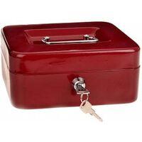 coffres Lock Down - avec plateau à pièces - rouge