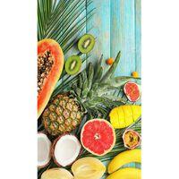 Good Morning Serviette de plage FRESH FRUITS 100x180 cm Multicolore
