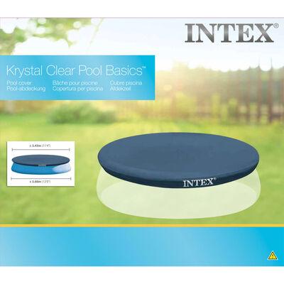 Intex Couverture de piscine ronde 366 cm 28022