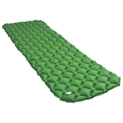vidaXL Matelas gonflable 58x190 cm Vert