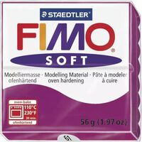 Pâte Fimo 57 g Soft Violet pourpre 8020.61 - Fimo