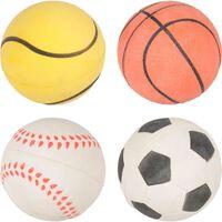 Balle eponge sport multicoloree