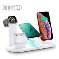 Chargeur pour 4 appareils différents - blanc