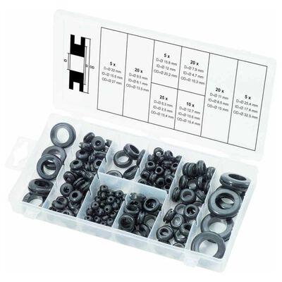 KS Tools Assortiment d'œillets en caoutchouc 110 pcs