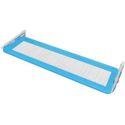 vidaXL Barrière de lit pour enfants 150 x 42 cm Bleu