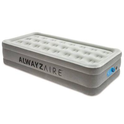 Bestway Lit pneumatique AlwayzAire 1 place 191x97x46 cm Gris