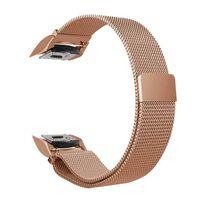 Bracelet pour Samsung Gear S2 - Boucle milanaise - or rose S