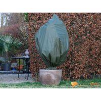 Housse d'hivernage en polypropylène vert 50gr/m² Ø100x150cm