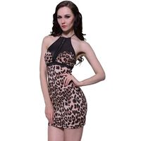 Nuisette sexy léopard taille unique