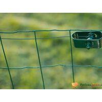 Rouleau de fil de fer en acier galvanisé vert Ø2,7mm L25m