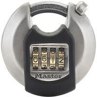 Master Lock Cadenas Disque Excell Acier inox 70 mm M40EURDNUM