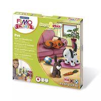 Kit Pâte Fimo Kids Animaux de compagnie 8034.02 ly - Fimo