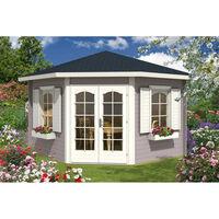 Alpholz Maison de jardin à 5 coins modèle alina-28