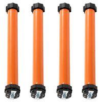 vidaXL Moteurs tubulaires 4 pcs 20 Nm