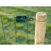 Tendeur de câble en acier galvanisé vert pour fil de fer